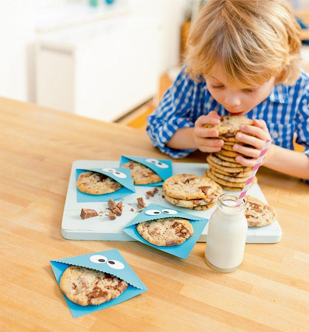 Kreative Kinderküche- Leckere Schokocookies
