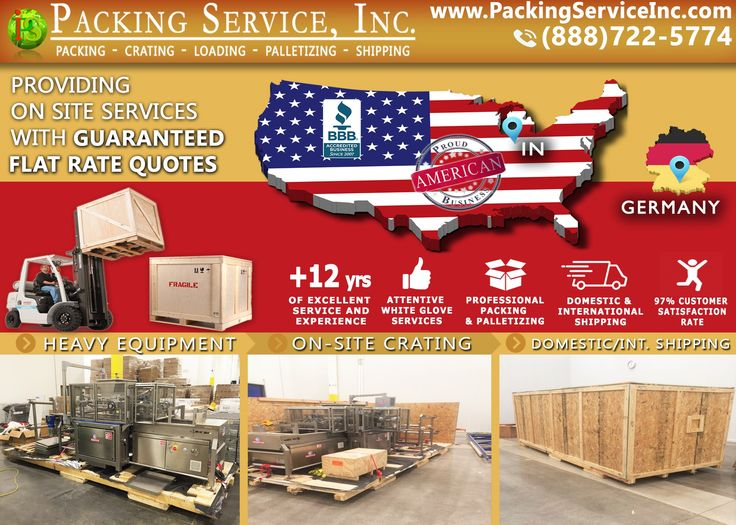 Shipping Company, Wooden Crates, Furniture, Wrapping