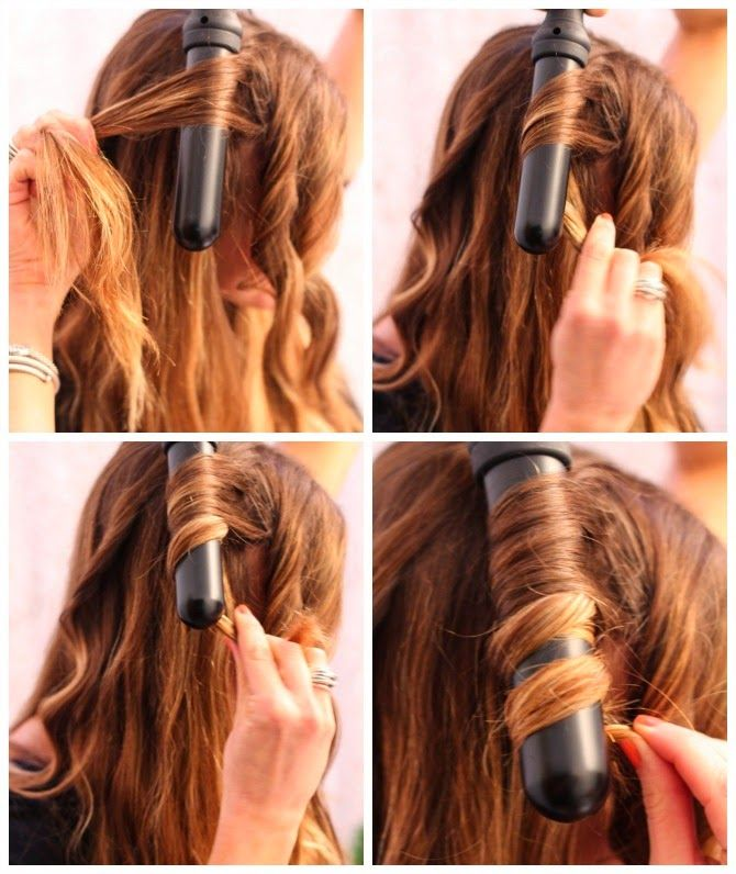 Easy 3 Step Braided HairstyleHOW TO: Victoria Secret Model Runway Inspired CurlsHAIR HOW TO: Sleek and Shiny how to use a curling wandHOW TO MAKE A FLOWER CROWN | DIY