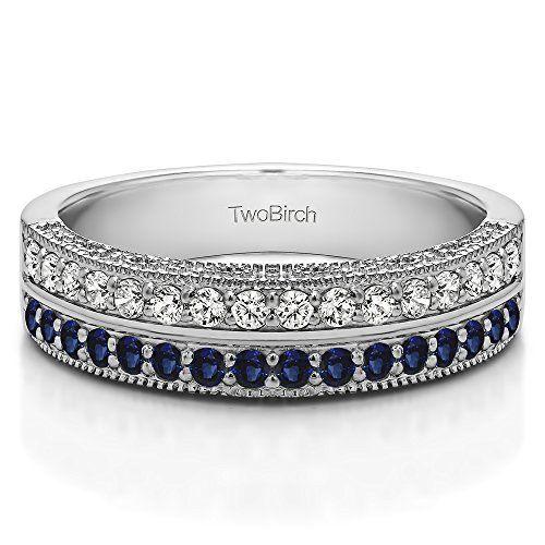 25+ best ideas about Sapphire band on Pinterest | Sapphire wedding ...
