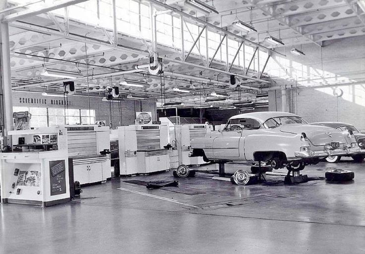 Pin on Vintage Car Dealerships, Auto Repair Shops , Auto