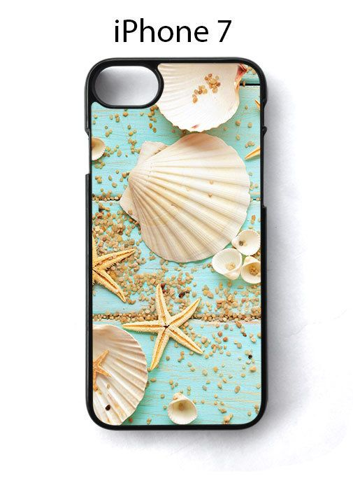 Seashells Starfish Exotic Print iPhone 7 Case Cover - Cases, Covers & Skins