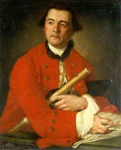 """""""James Grant of Lettock"""", Louis Gabriel Blanchet, 1760"""