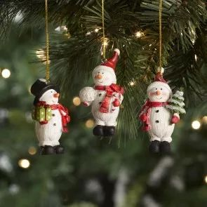 Whether you love to create a traditional tree or fill it fun and colourful Christmas characters, you'll find ornaments for every style in our ornament selection.