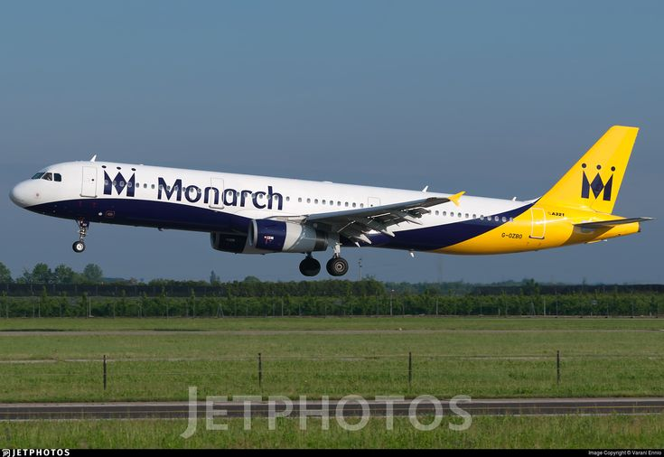 Photo of G-OZBO - Airbus A321-231 - Monarch Airlines