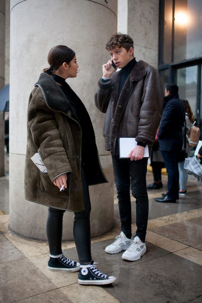 her coat is sooooo sick.