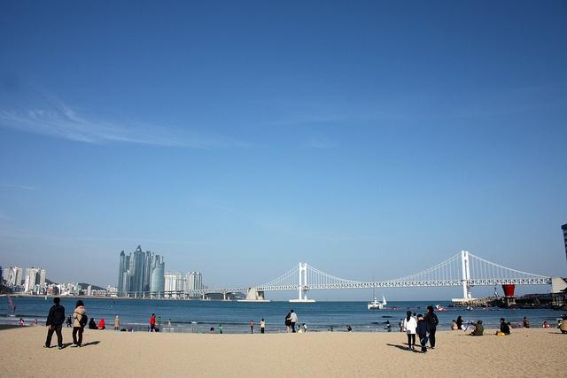 Playa de Gwangalli (Corea)