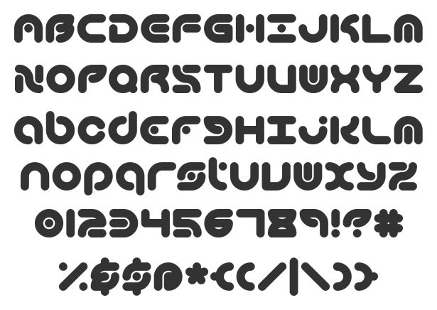 electro music font - Google Search
