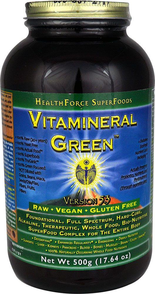 HealthForce Nutritionals Vitamineral Green™ Powder -- 17.64 oz - Vitacost