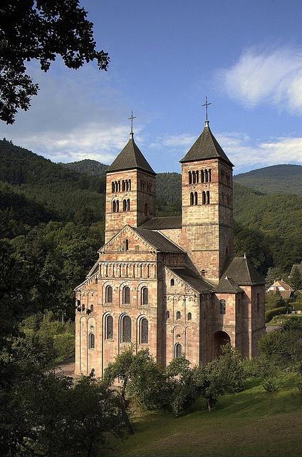 Abbaye de Murbach, France