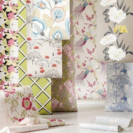 Fabulous, funky and floral is the way to describe Show stoppers, our colourful wallpaper collection... pinned with Pinvolve