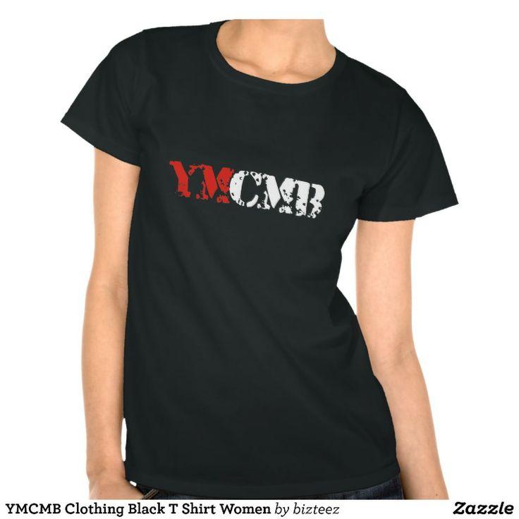 YMCMB Clothing Black T Shirt Women
