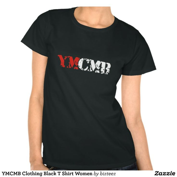 YMCMB Clothing Black T Shirt Women