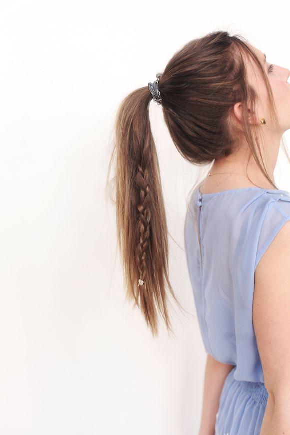 Ponytail + Braid