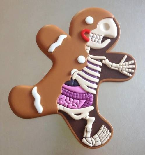 Gingerbread man by Jason Freeny