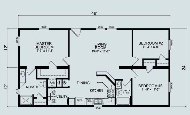 24 x 36 floor plans nominal size 24 x 52 actual size for 24x36 floor plans