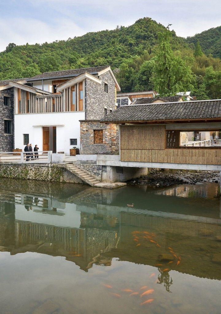 王澍新作/洞橋鎮文村美麗宜居示范村   China architecture. Facade architecture