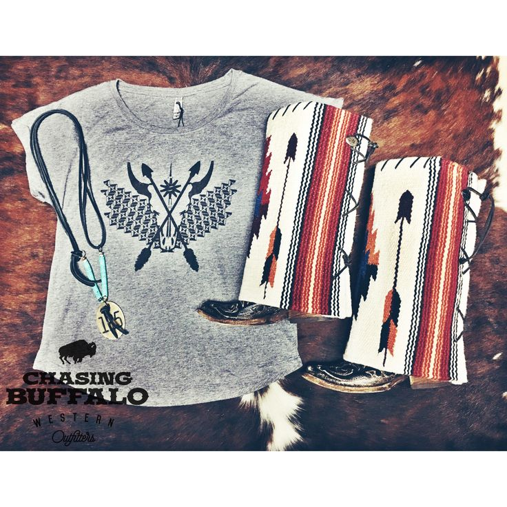 Antique Cattle Tag necklace, Spur Ridewear top and some of our gorgeous Boot…