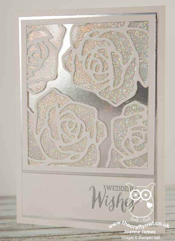 Rose Wonder Wedding Card