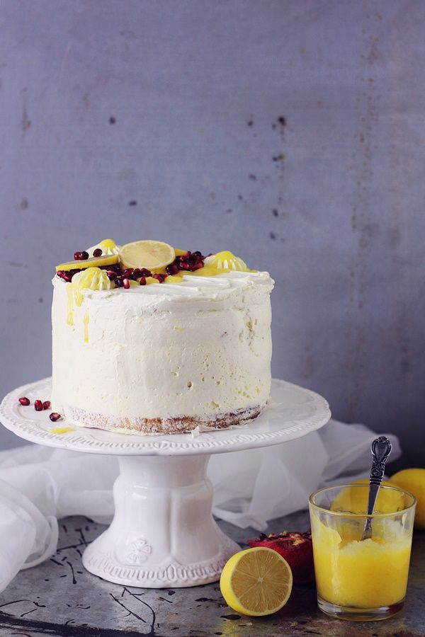Lemon curd Cake | Pasiune pentru bucatarie