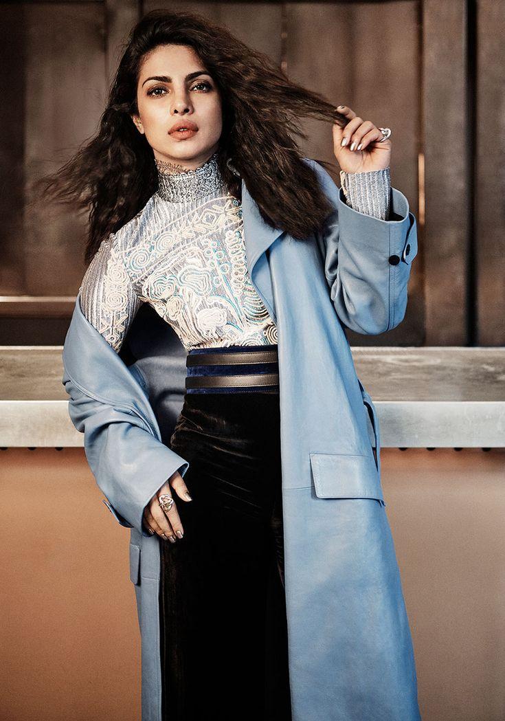 Priyanka Chopra hot photoshoot for Interview Magazine. #Bollywood #Fashion #Style #Beauty #Hot #Sexy