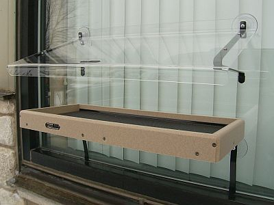 Second Nature Recycled Window Mount Platform Large