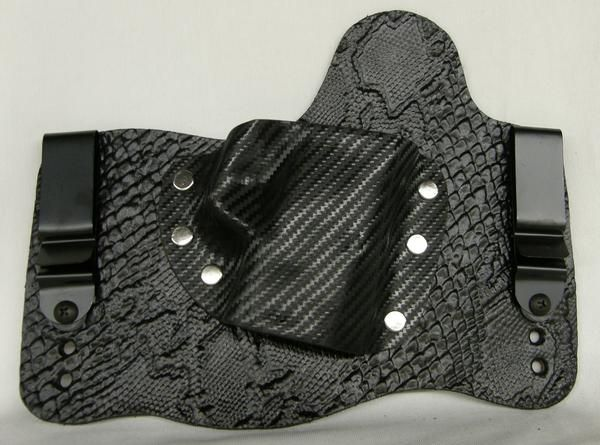 Gator & Python embossed leather holster SALE | S&W MP Shield | Foxx Holsters