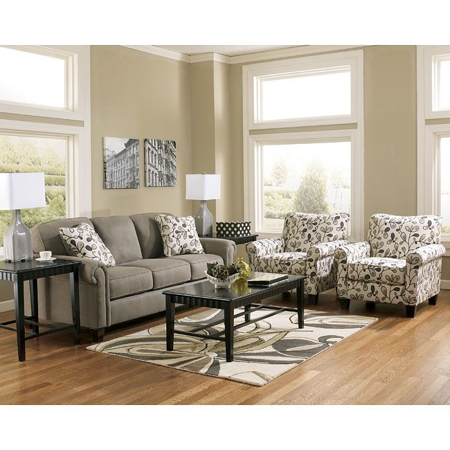 gusti dusk sofa set w accent chairs signature design ashley ashley furniture sofas and chairs