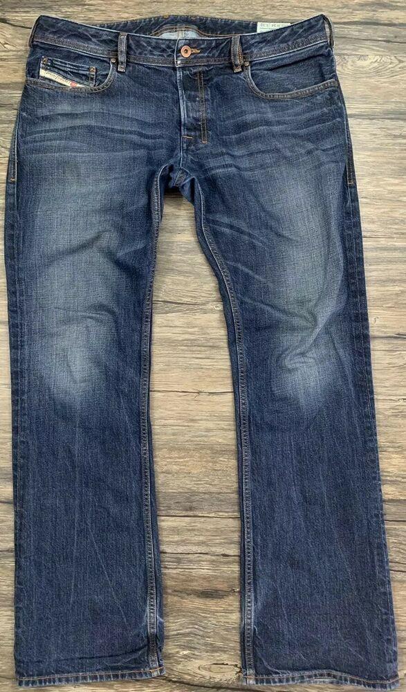 b169db3fc66 Diesel Industry Zatiny Jeans Sz 34 X 32 Regular Bootcut Bittonfly Mens 33D  | eBay
