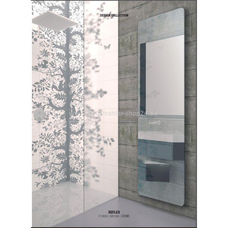 Infrarot-Spiegelheizung von K8 mit Fernbedienung für das Badezimmer // Mirror infrared heating by K8 with remote control for the bathroom