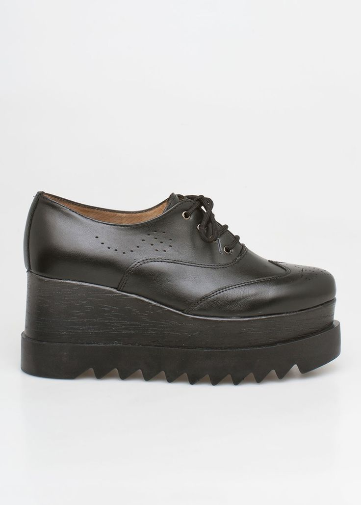 • Be a Boss with the new brand Nyla oxford flatforms! •
