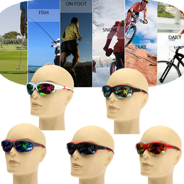 Unisex Sport Sun Glasses Cycling Bicycle Bike Outdoor Eyewear Goggle Sunglasses