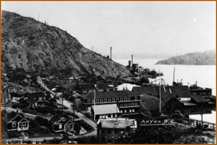 Town of Anyox BC early 1920's