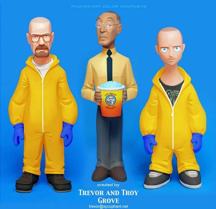 "Artist Trevor Grove of Sideshow Collectibles and his brother Troy Grove have teamed up to sculpt a stylized series of ""toon-up figurines"" in the likeness of characters from AMC's hit television ser..."