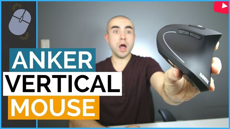 Anker Vertical Mouse Review - An Ergonomic Mouse For Wrist Strain http://www.onlinemousepro.com/shop/