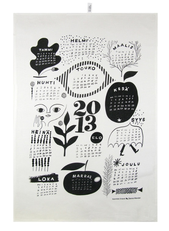 Poppytalk - The beautiful, the decayed and the handmade: 2013 Calendar Round-Up Part II