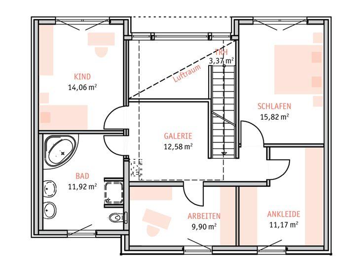 Moderne architektur häuser grundriss  165 besten Architektur Bilder auf Pinterest | Neubau, Moderne ...