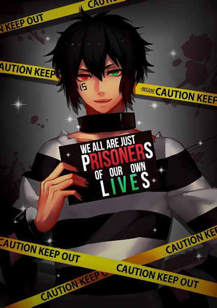 ""\"""" We all are just prisoners of our own lives """"    Anime :Nanbaka""424|600|?|en|2|0432d7ebf880ea0be0e128497163e30a|False|UNLIKELY|0.3197995722293854