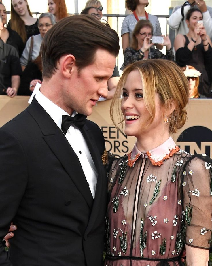Matt Smith and Claire Foy of The Crown