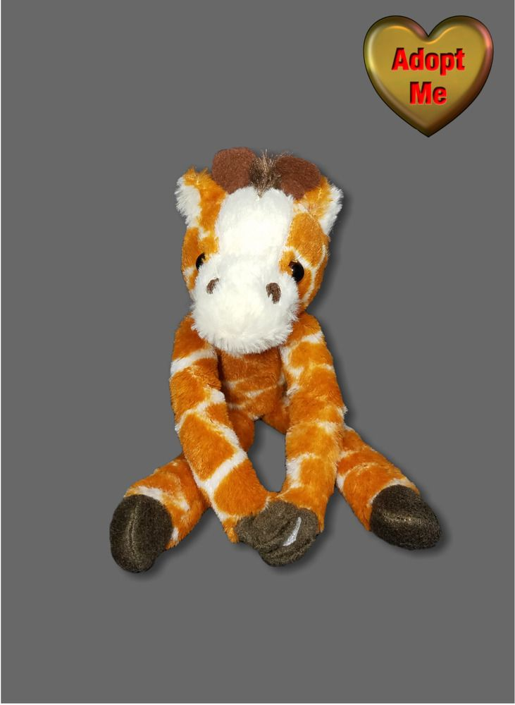 Hanging Giraffe Long Arms Legs Stuffed Plush Safari Jungle Animal Toy 11in Unbranded Pet Toys Plush Stuffed Animals