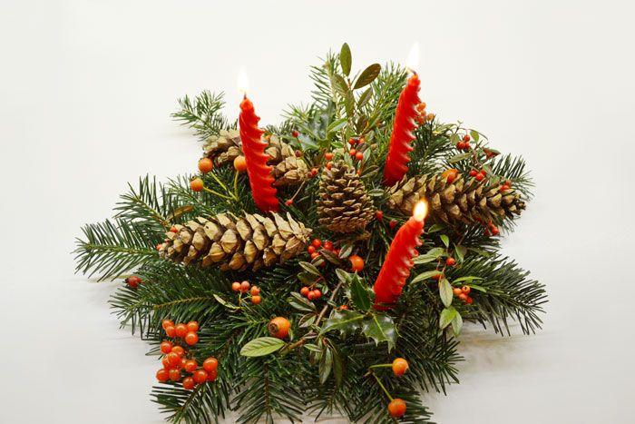 THE CHRISTMAS CENTREPIECE – DIY ©Gucki.it