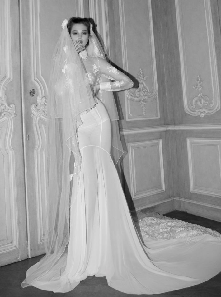 Popular VEIL Inbal Dror Wedding Dress Collection via Bridal Musings