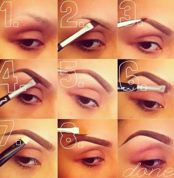 17 Best ideas about Fake Eyebrows on Pinterest
