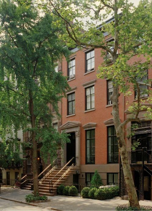 Greenwich Village Travel New York Brownstone Townhouse Exterior