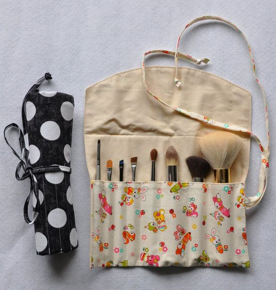 MakeUp+Brush+Roll+/+Organizer+++PDF+Sewing+Pattern+&+by+blushbunny,+$3.45
