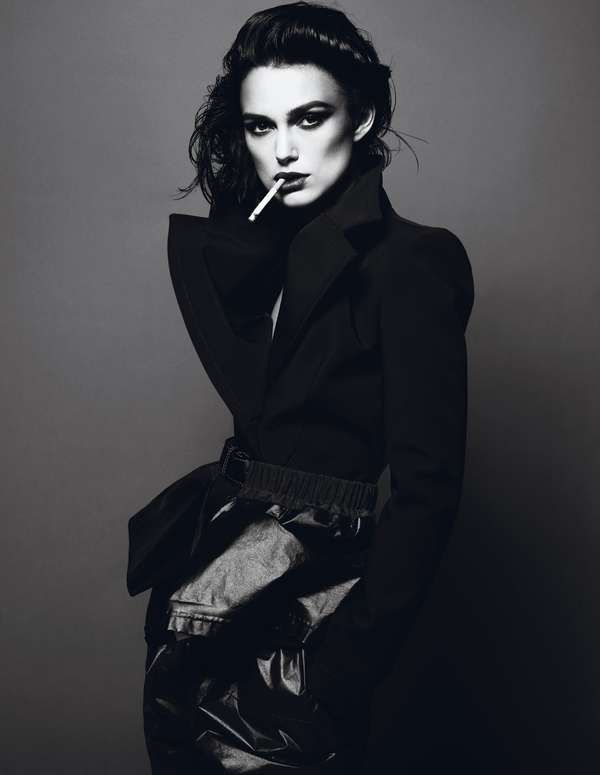 Keira Knightley Stars in the Interview Magazine April 2012 Cover Shoot (GALLERY)