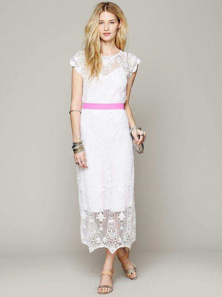 Embroidered Vintage Dress 114