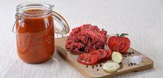 Sauce bolognaise en conserve 1h 100°C