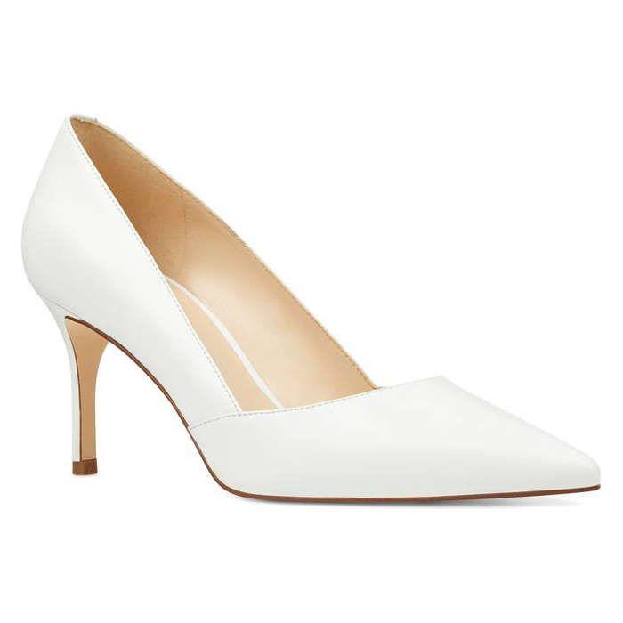 10 Best White Heels | Pointy toe pumps