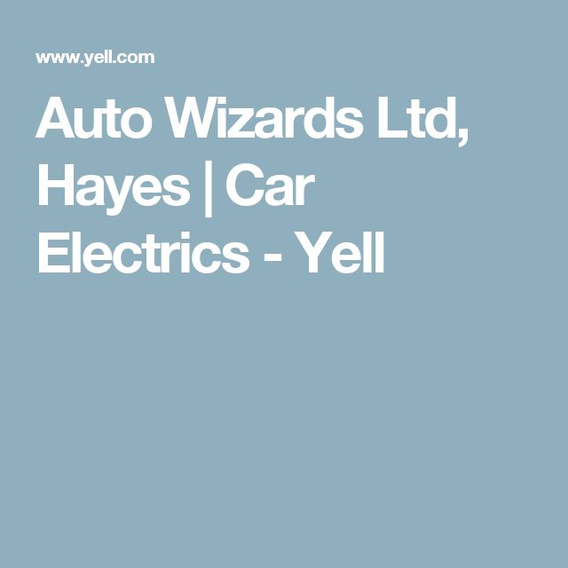 Auto Wizards Ltd, Hayes | Car Electrics - Yell